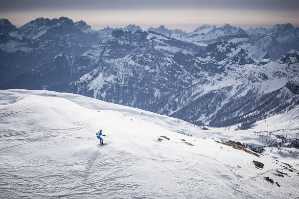 scialpinismo pizolada delle dolomiti