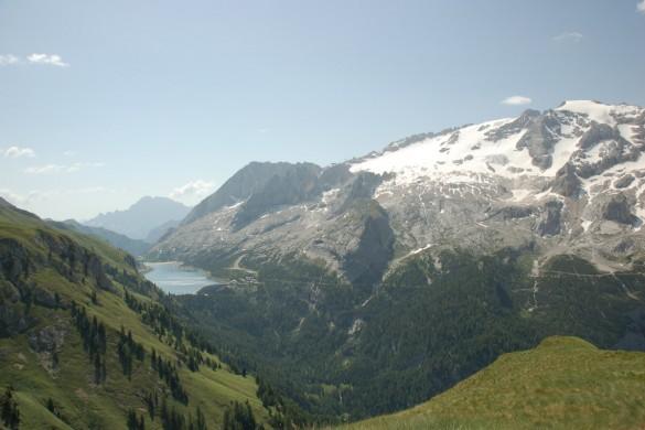 trekking ad arabba nelle Dolomiti