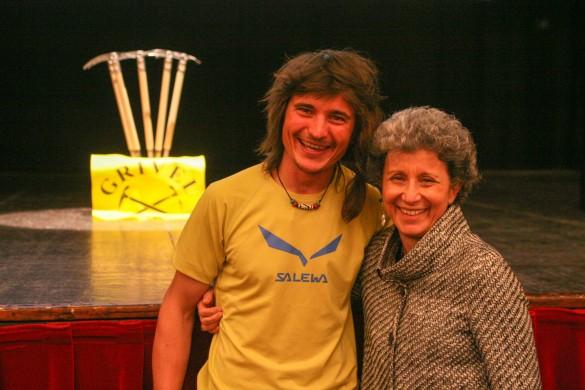 Simon Gietl e Betta Gobbi della Grivel Mont Blanc