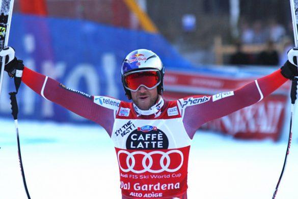 Aksel Lund Svindal Val Gardena Supergigante 2015