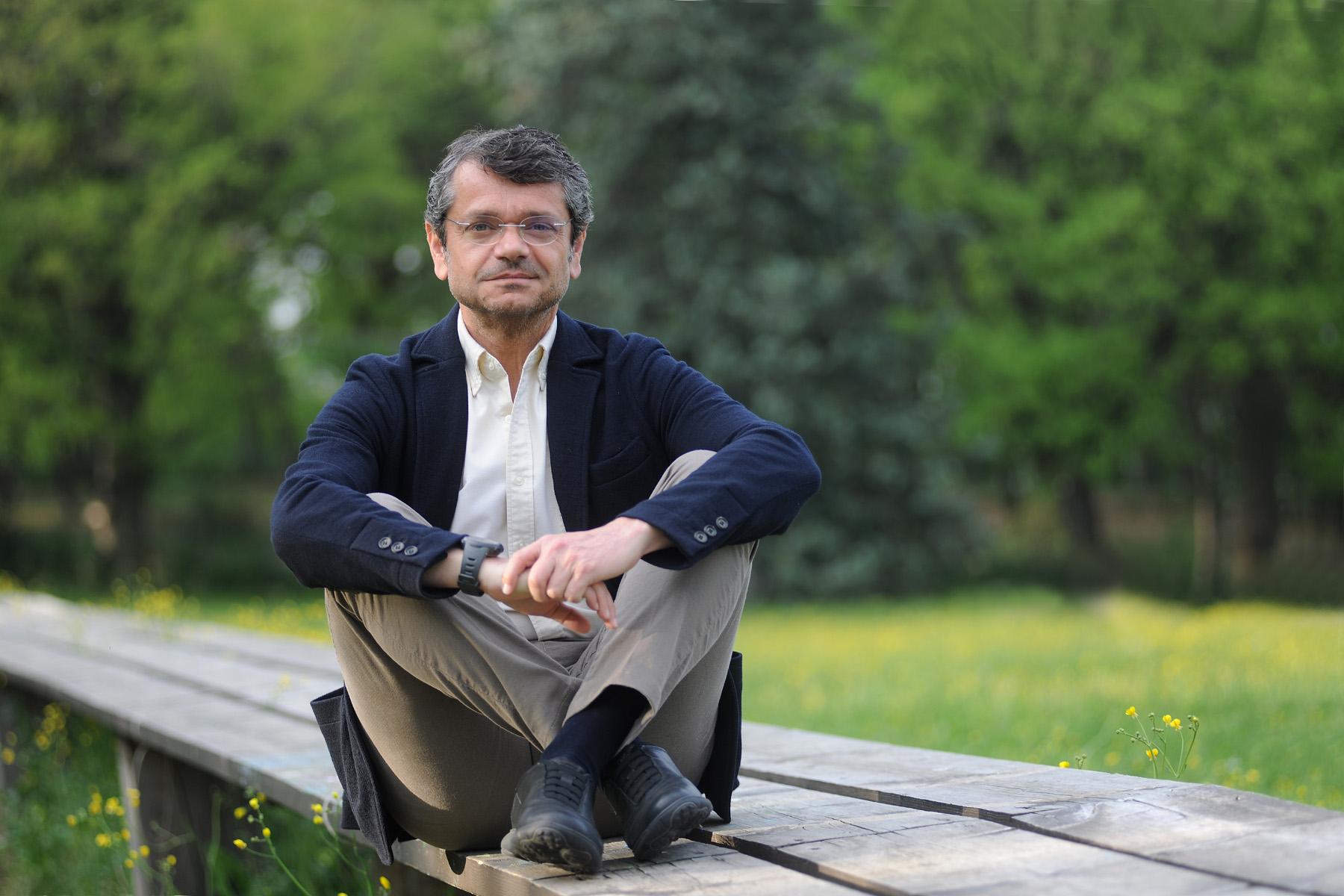 L'agronomo economista e autore Andrea Segrè - (Photo by Roberto Serra / Iguana Press)