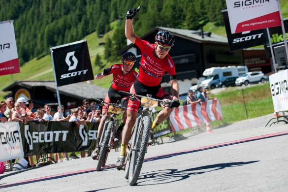 Bike Transalp 2016 - Hermann Pernsteiner e Daniel Geismayr