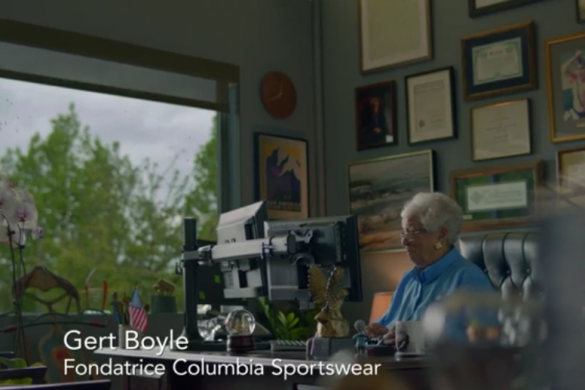 La Presidente di Columbia Sportswear, Gert Boyle