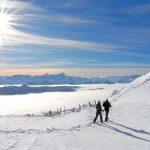 Con le ciaspole sull'Alpe Gerlitzen a Villach