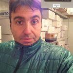 Prova della giacca Patagonia Nano Puff in cella frigorifera a -19,5 °C