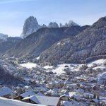 Val Gardena, il paese di Ortisei
