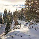 Outdoor invernale sui monti di Villach