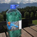 L'originale packaging della giacca Patagonia Nano Puff
