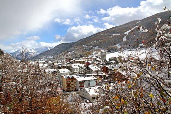 Aprica, nevicata 7 novembre 2016