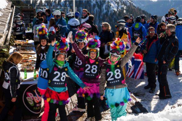 Feste sulla neve in Val Gardena