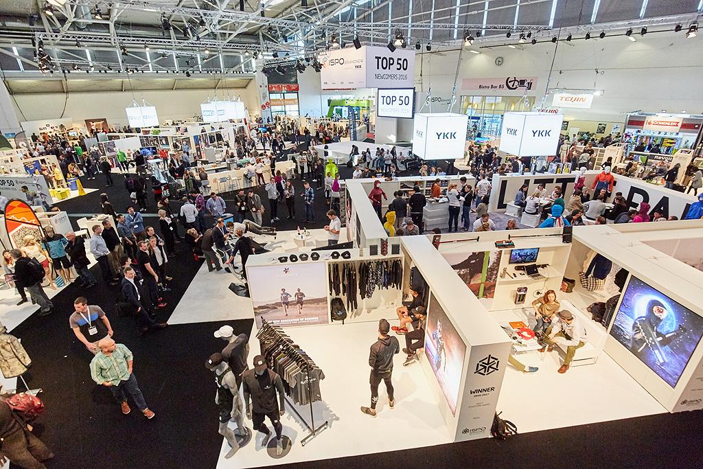 ISPO Munich 2016, settore Bradn New