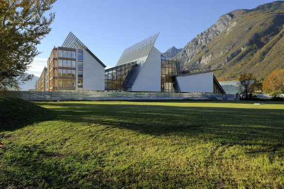 Muse, Trento: veduta esterno
