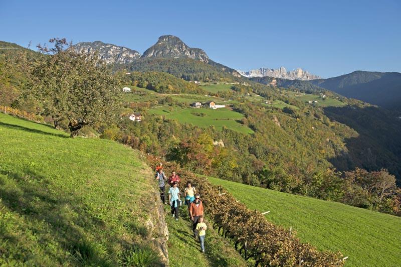 Dolomiti in autunno, foto Alpe di Siusi