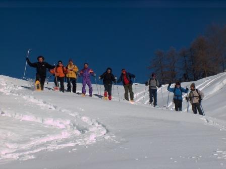 Racchette da neve a Pila: il 6 gennaio tutti alla CiasPila
