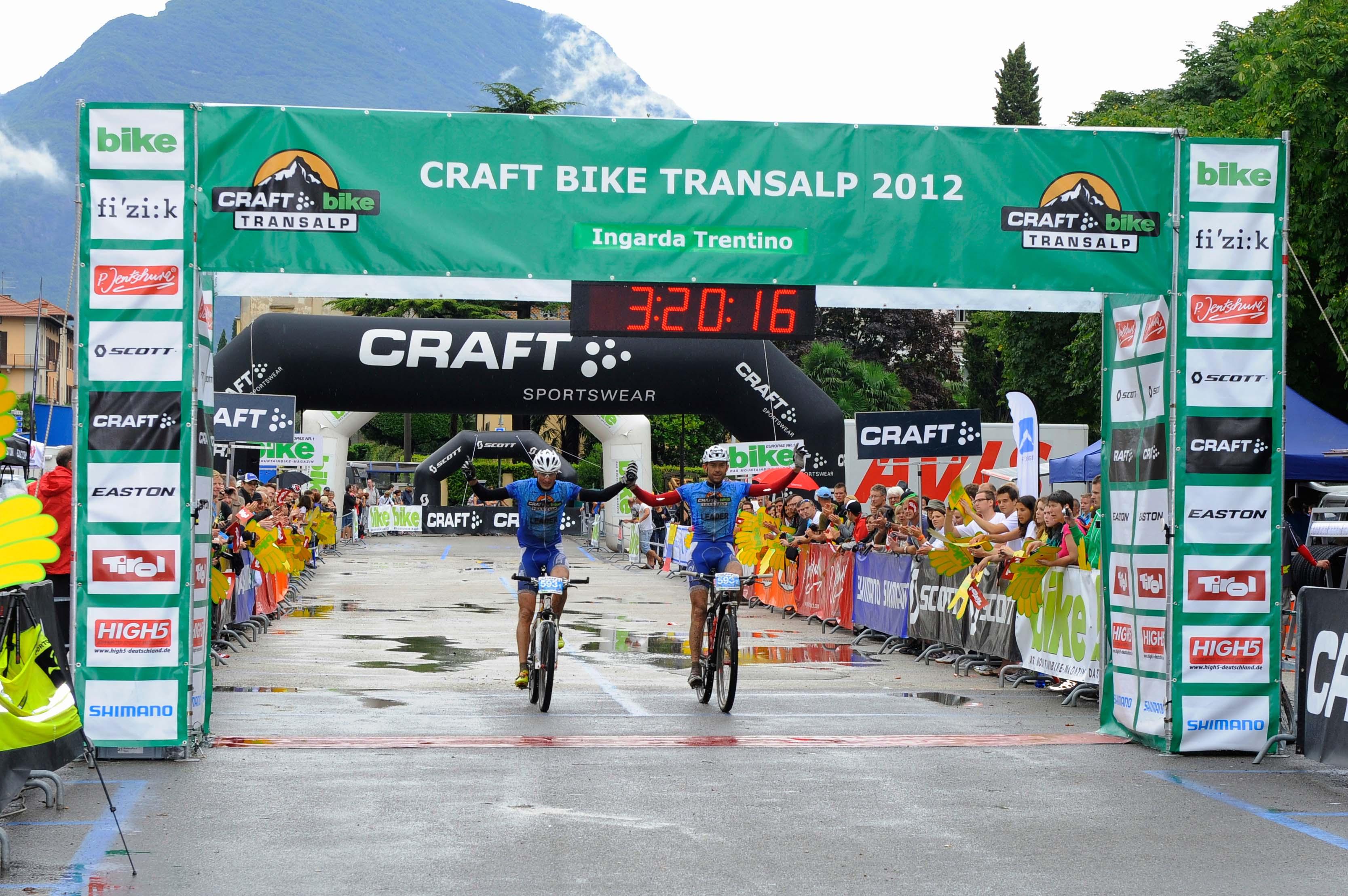 Craft Bike Transalp 2012: tappa finale a Riva del Garda. Le classifiche