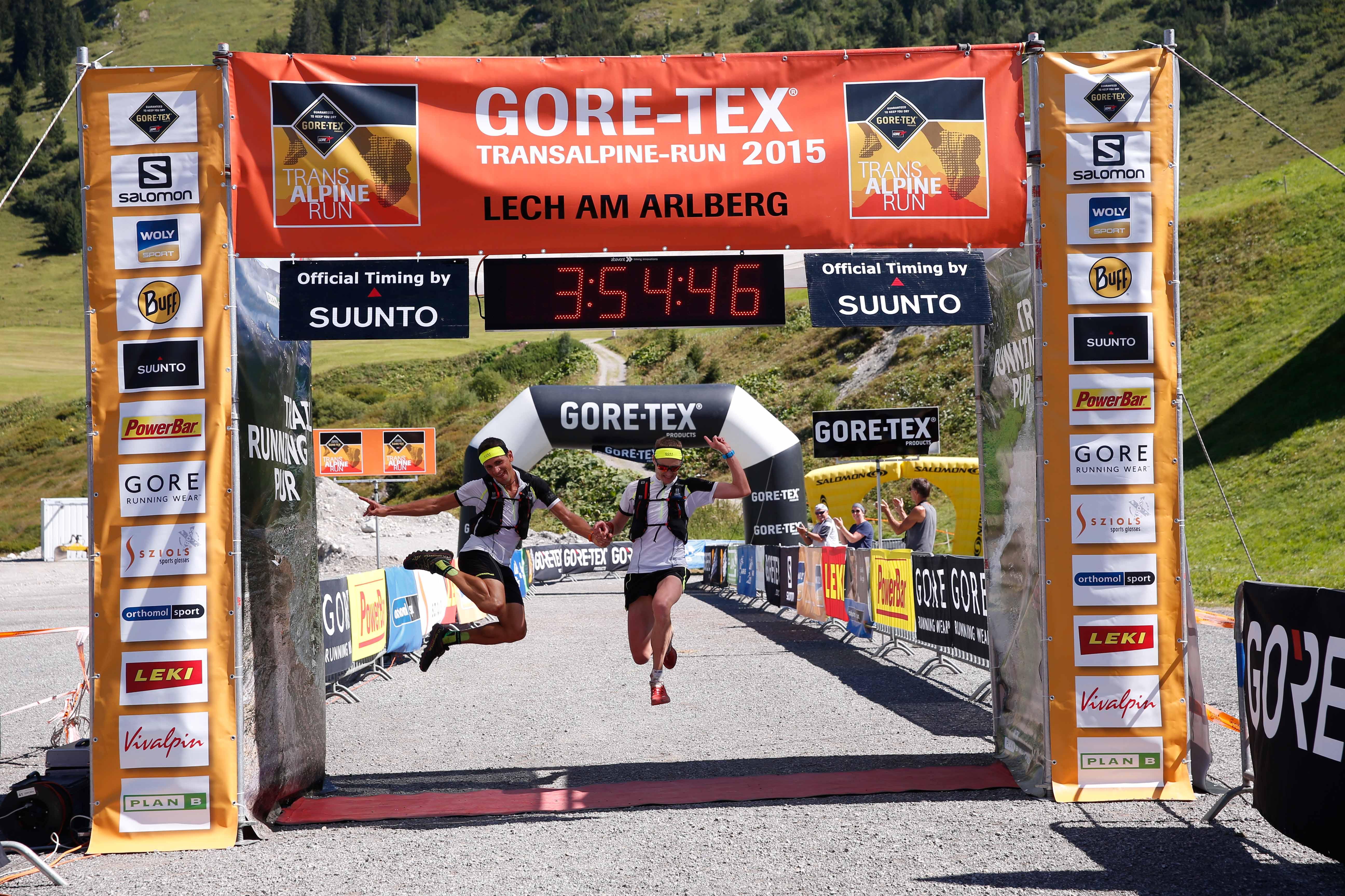 Al via la Gore Tex Transalpine Run 2015
