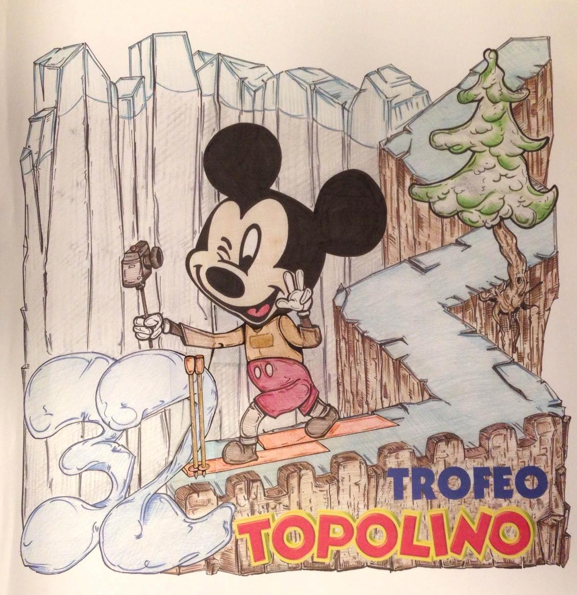 Trofeo Topolino sci di fondo: i vincitori del concorso artisitico