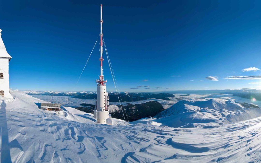 Scialpinismo a Villach sulle pendici del Dobratsch
