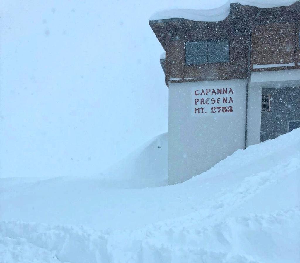 2 metri di neve sul Presena