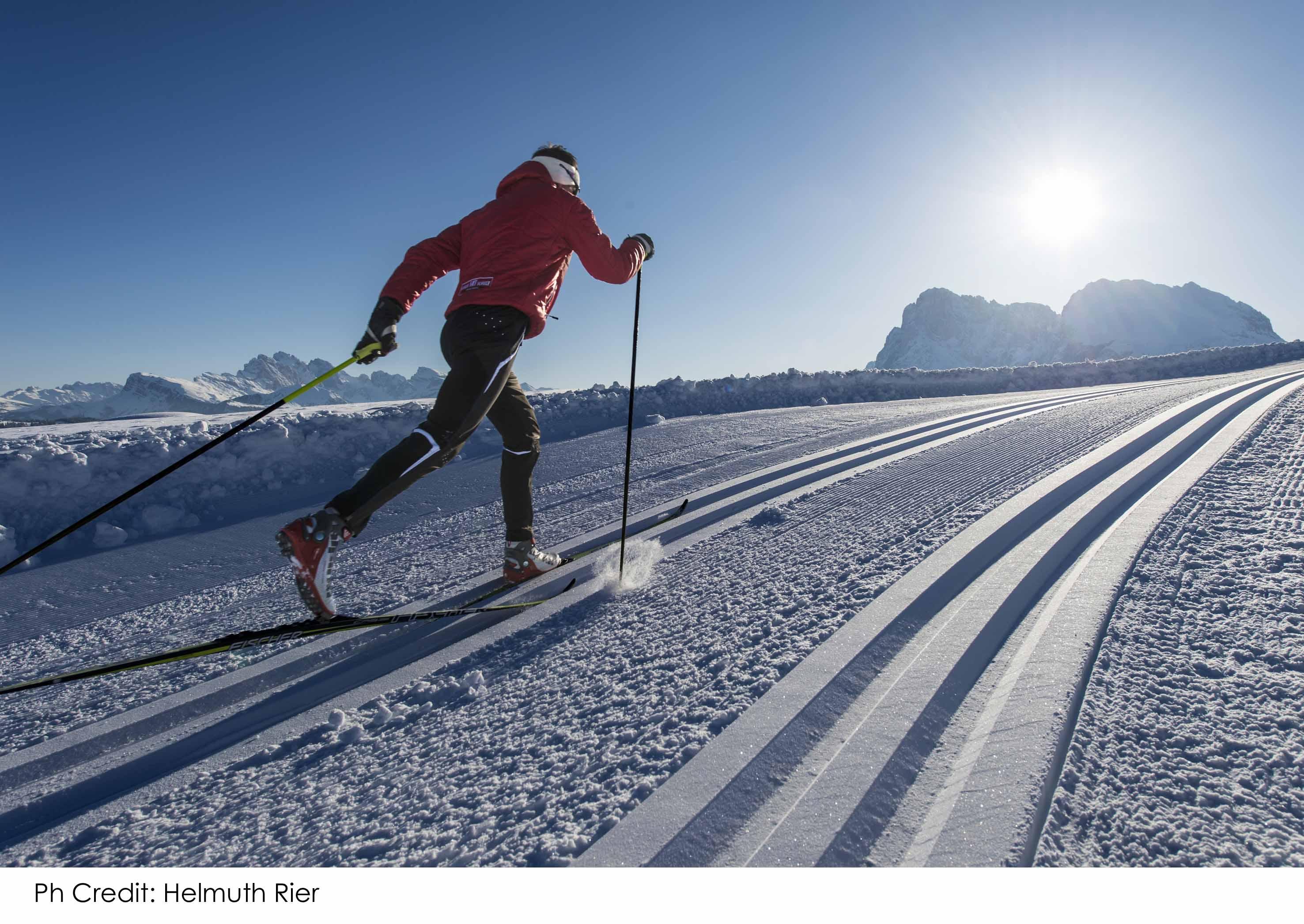 Alpe di Siusi: vacanza sci di fondo con l'olimpionica Karin Moroder