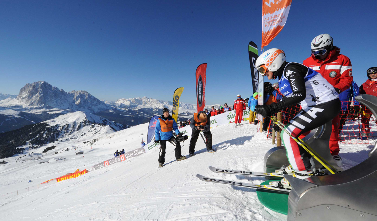 gara sci alpino gardenissima