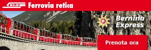 Ferrovia Bernina Express Sponsor ufficiale Discovery Alps