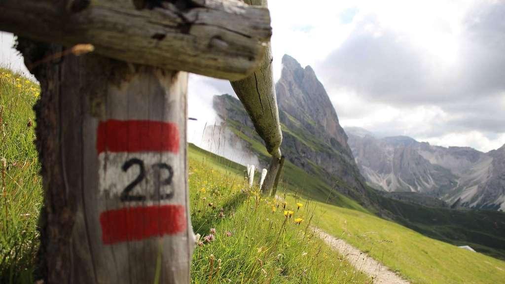 Val Gardena trekking