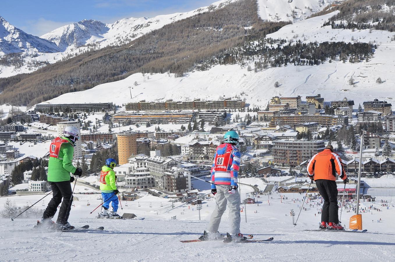 sciare a sestriere