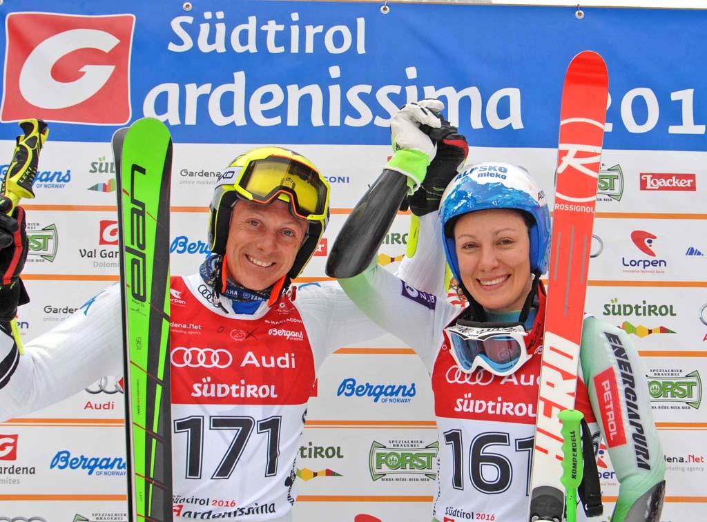 Gardenissima, festa dello sci in Val Gardena