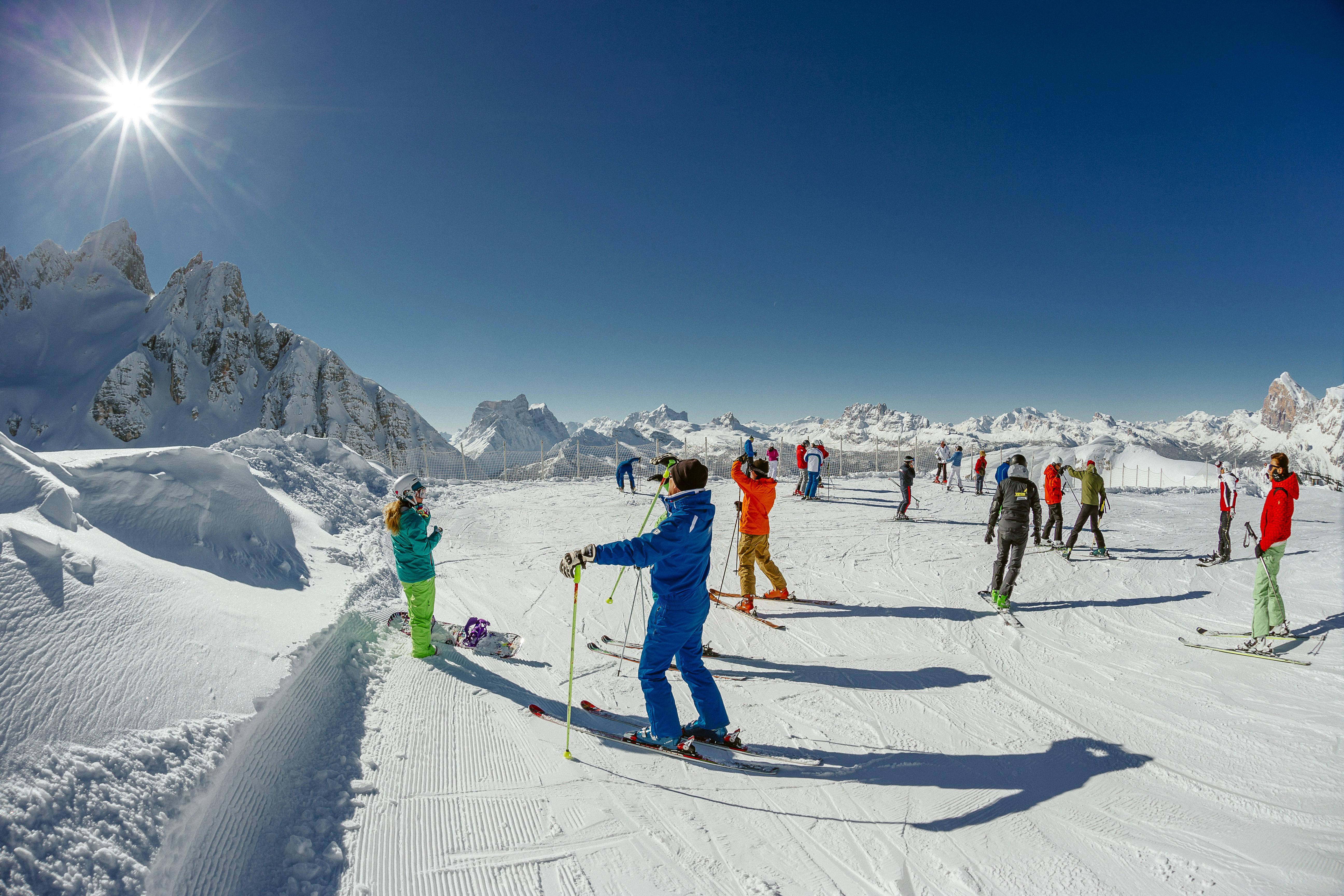 Cortina: 1 maggio sulle nevi del Faloria