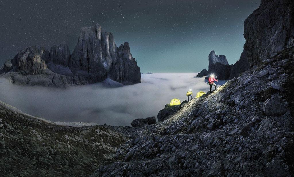 Vivi con Salewa l'emozione di un base camp sulle Alpi
