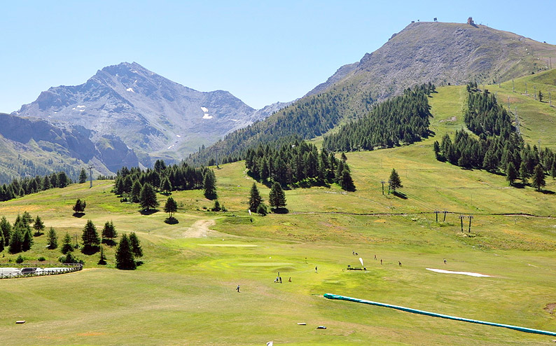 campo golf sestriere