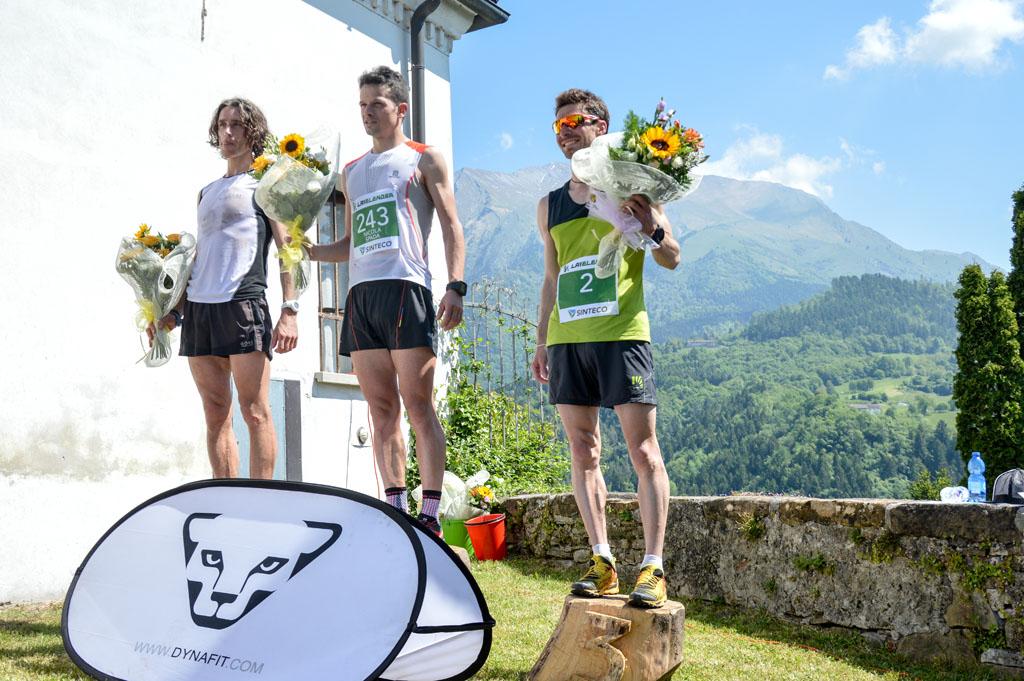Il podio de La Velenosa edizione 2016
