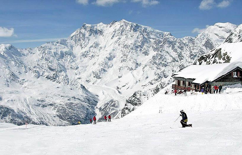 Monte Rosa: il massiccio delle Alpi