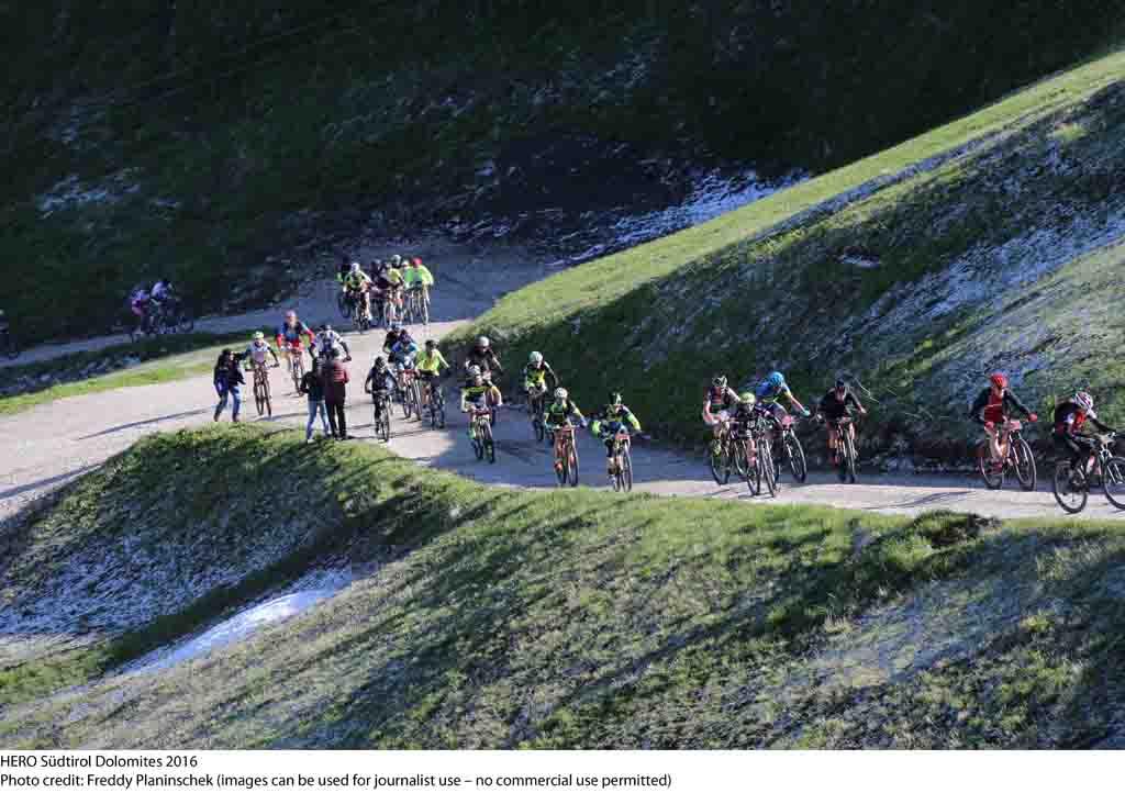 Hero Suedtirol Dolomites 2016