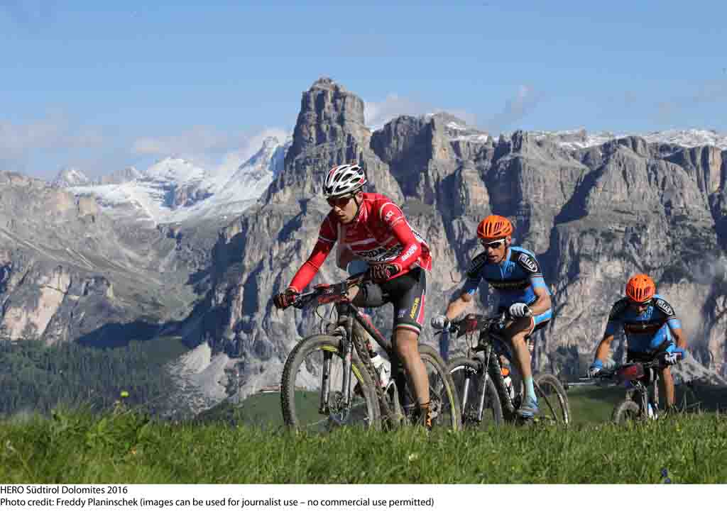 BMW HERO Südtirol Dolomites 2021: si parte il 12 giugno. Tappa UCI MTB Marathon Series
