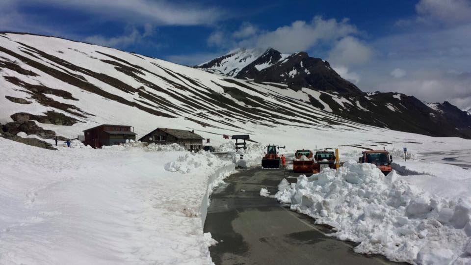 Colle del Nivolet: la strada è aperta