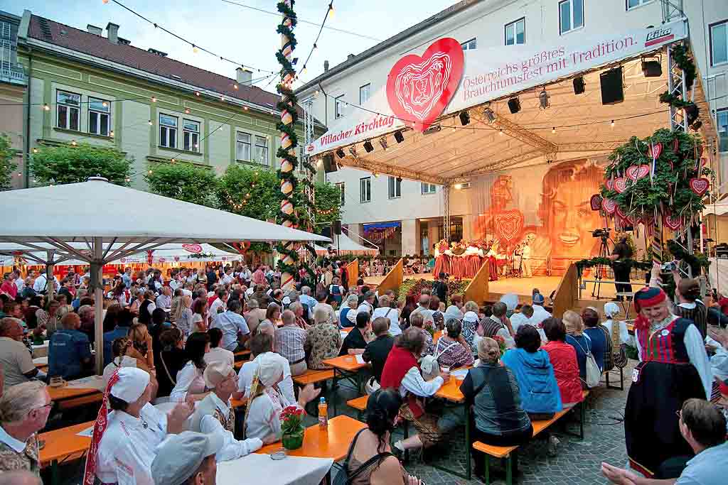 Villach: calendario eventi estate 2019