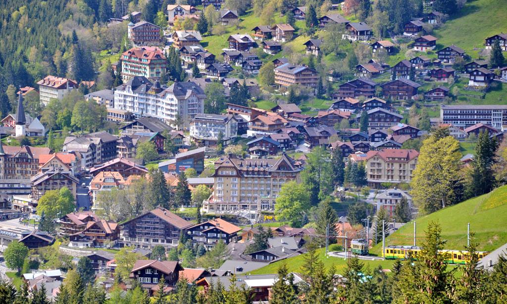 Wengen Dorf