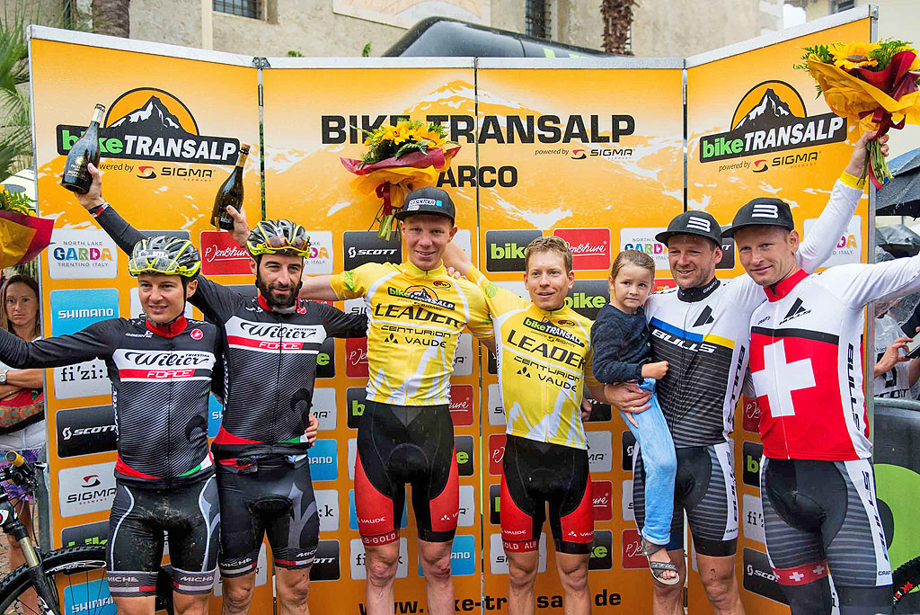 BIKE Transalp 2016: la classifica