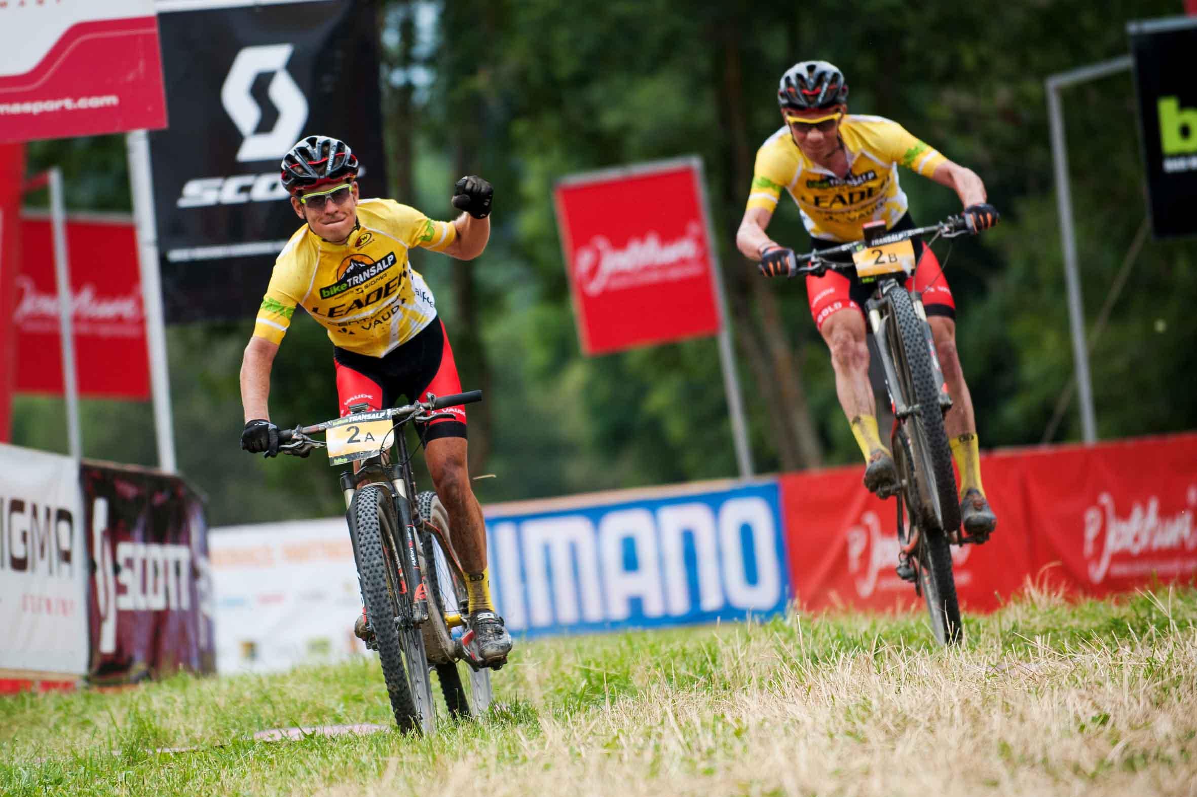 Bike Transalp: tappa da Bormio a Mezzana