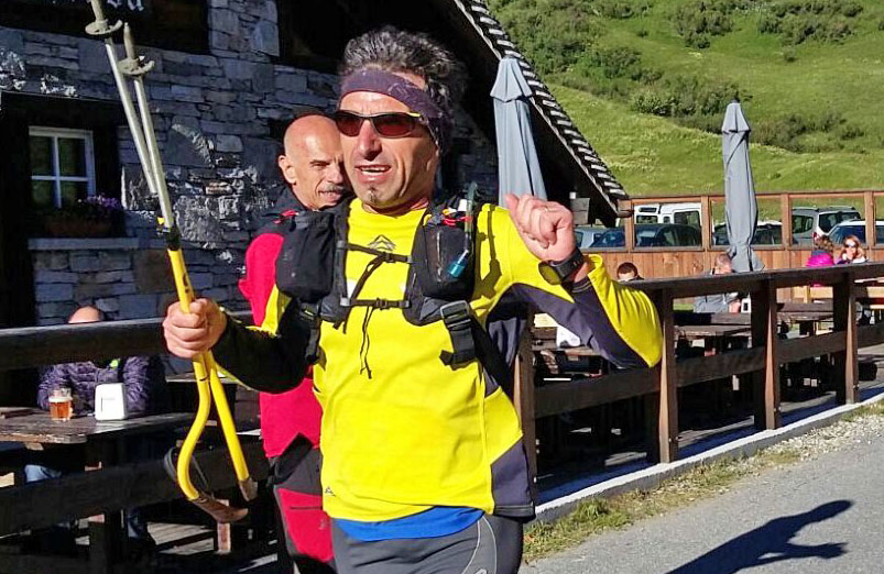 Claudio De Marco, inviato di DiscoveryAlps alla Bettelmatt Ultra Trail 2016