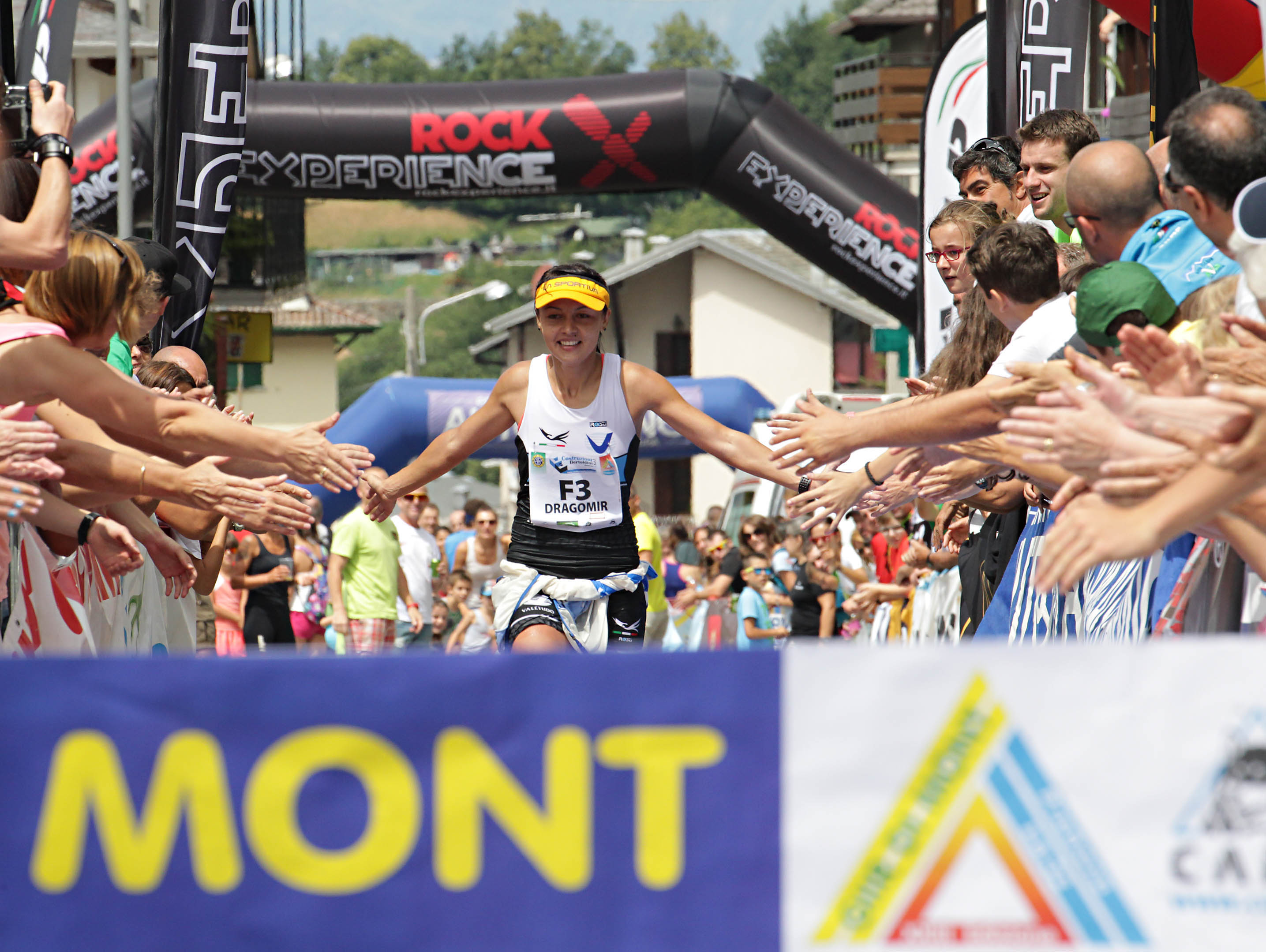 L'arrivo del Giir di monte femminile edizione 2015
