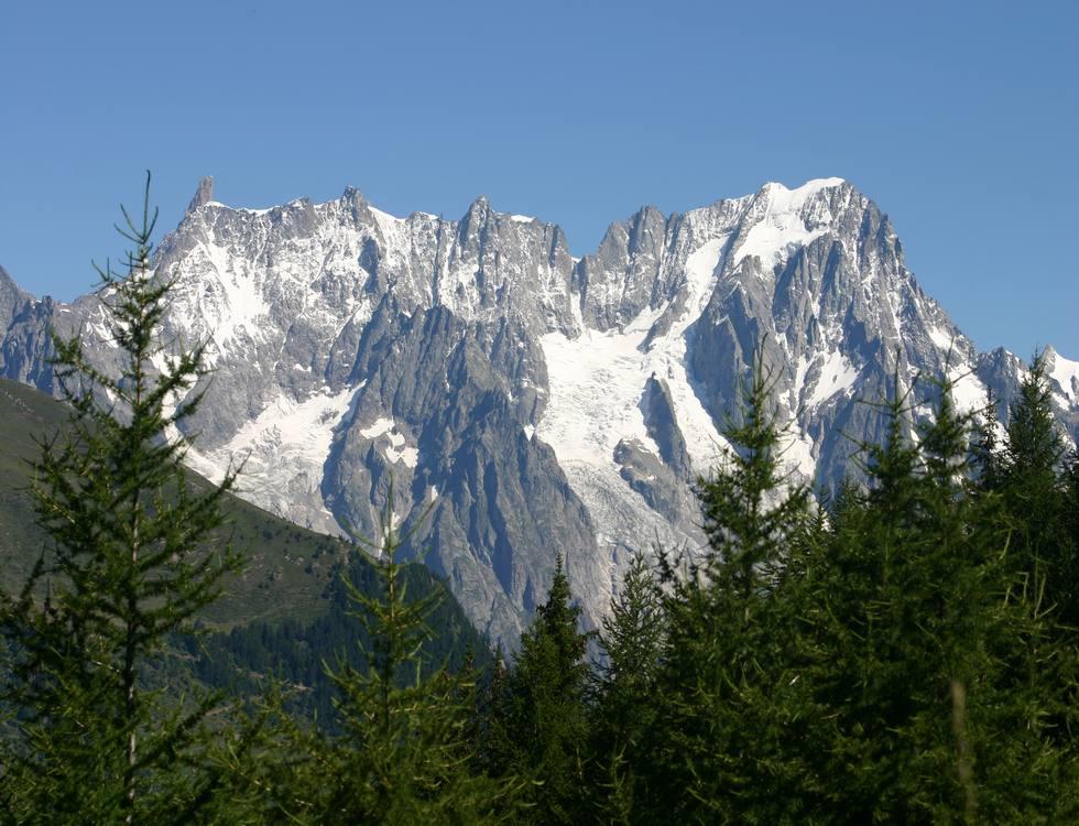 Le Alpi in estate a La Thuile