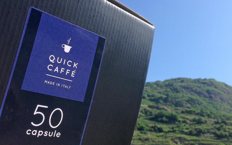Il caffè di Montagna è in Valtellina