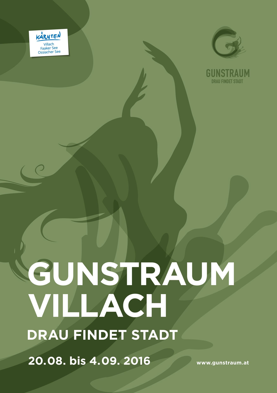 Gunstraum Villach, arte sul fiume Drava