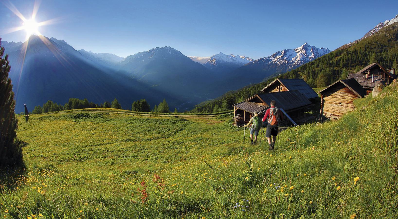 Soelden, hiking sulle Alpi del Tirolo