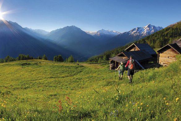 Soelden, hiking in Tirolo