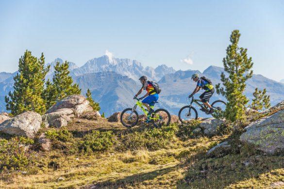 Percorsi per la mountain bike in Val di Fiemme - © 2012 Ronny Kiaulehn - All rights reseved