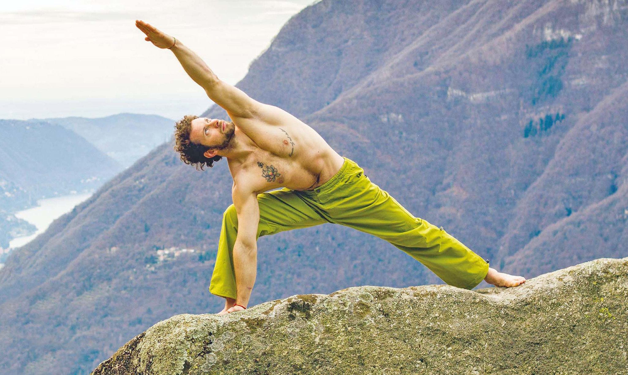 Yoga e arrampicata